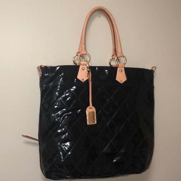 f81dc06e4a3e CAVALCANTI PATENT LEATHER NWOT LARGE BAG